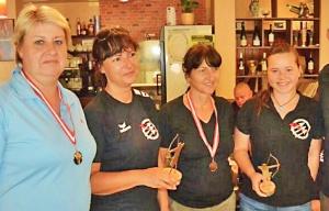 Siegerehrung Damen IB72